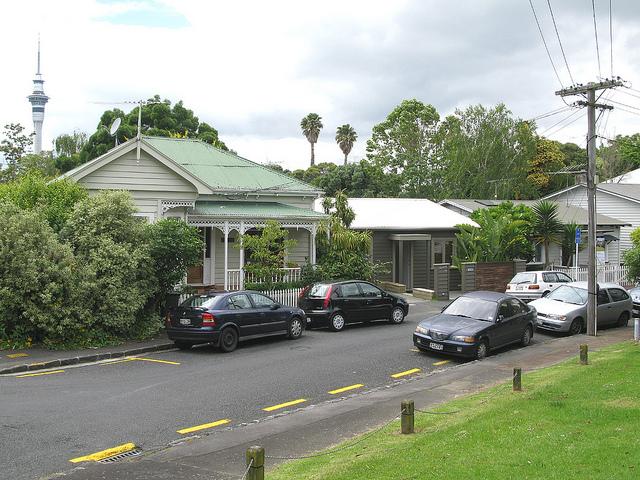 Parking in Freemans Bay