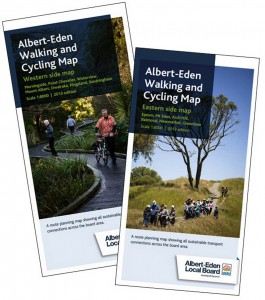 New walking maps for Albert Eden