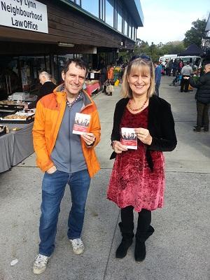 Campaigning at the Grey Lynn Farmers Market