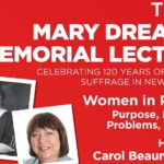 Mary Dreaver Memorial Lecture A5 2013