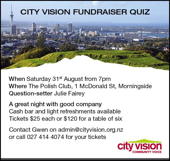 City Vision fundraising quiz night