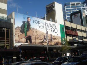 St James Theatre billboard Auckland
