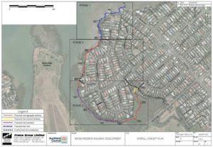 Weona walkway map