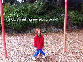 Stop shrinking my playground!