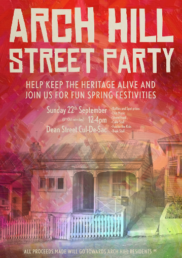 Arch Hill Street Party