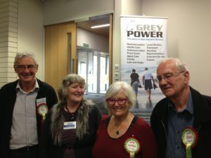 Harry Doig, Anne Marie Coury, Tricia Reade and David Holm