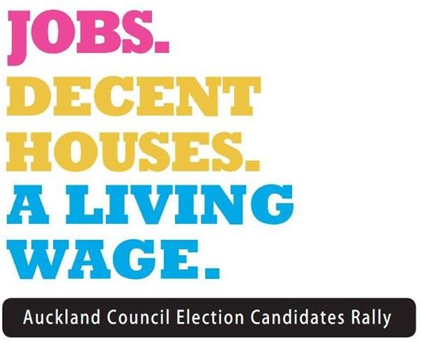 Living Wage Forum: Auckland University