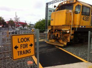 Morningside rail crossing