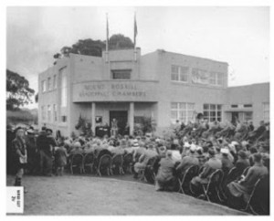 Roskill heritage Council chambers