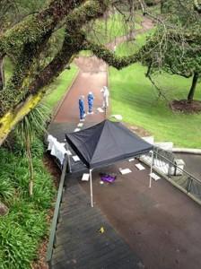 myers park crime scene