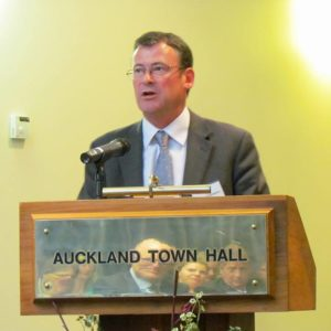 Shale Chambers Chair Waitemata Local Board chair inaugural address