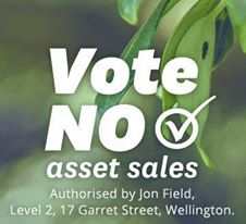 vote no to asset sales