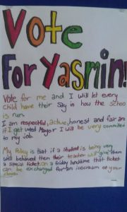 Vote for Yasmin