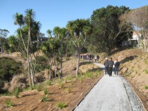 Howlett Reserve walkway opening