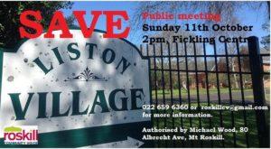 save liston village