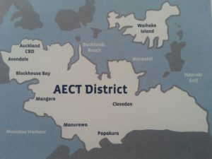 AECT district map
