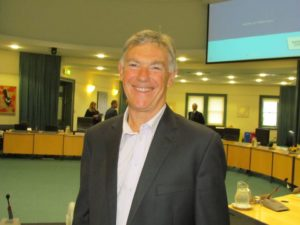 Barry Coates at the Regional Policy and Strategy Committee Photo Credit: Cathy Casey