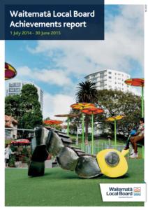 Achievements report 2015 cover