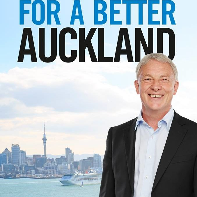 Phil Goff for mayor