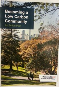 becoming a low carbon plan cover