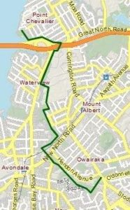 Shared Paths map