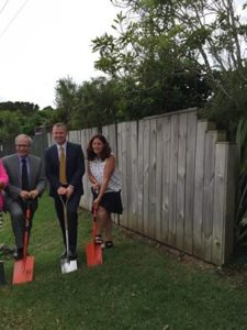 Sod turning margi