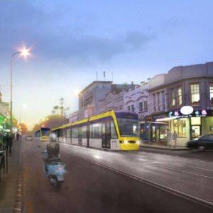 light rail Dominion Road