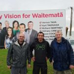 Waitemata hoardings going up