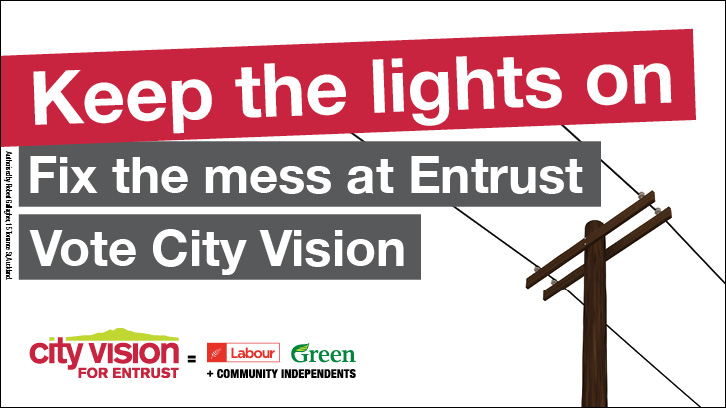 City Vision for Entrust policy: sustainability, solar tax, renewables and climate change