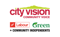 City Vision = Labour + Greens + Independents