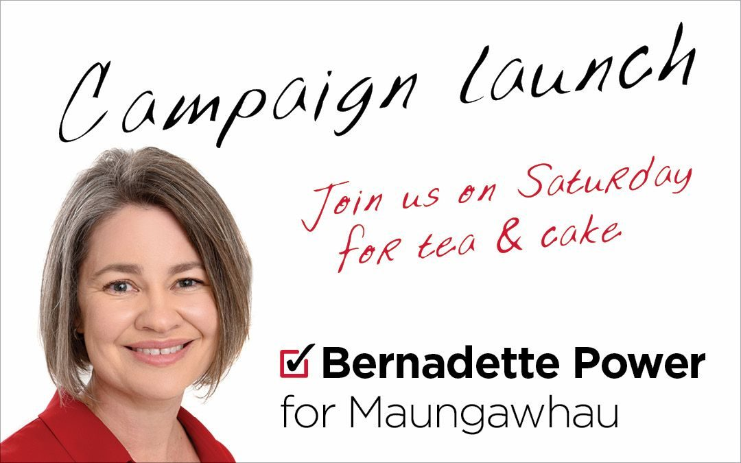 Campaign Launch – this Saturday!
